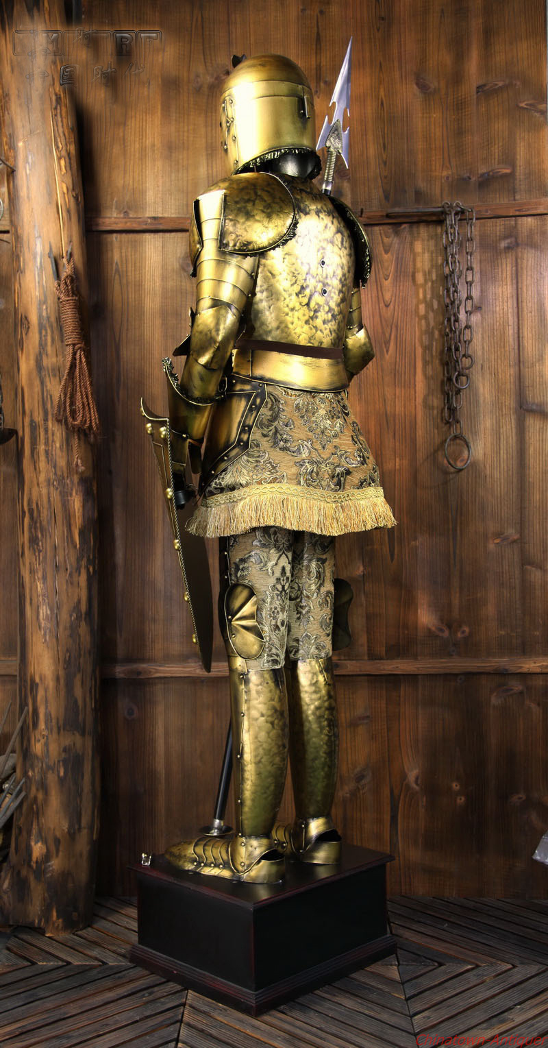 Archaize middle ages ancient rome suit of armour for Armor decoration
