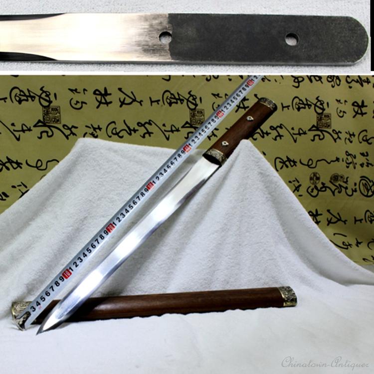 Details about ChiBi Short sword High manganese steel sharp Blade Fighting  Camping knife #1901